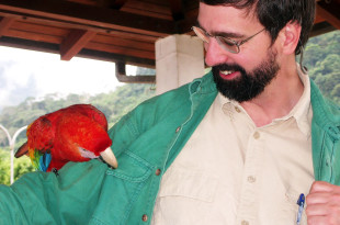 Keith and Parrot