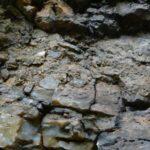 Silceous sinter at the Omu outcrop.